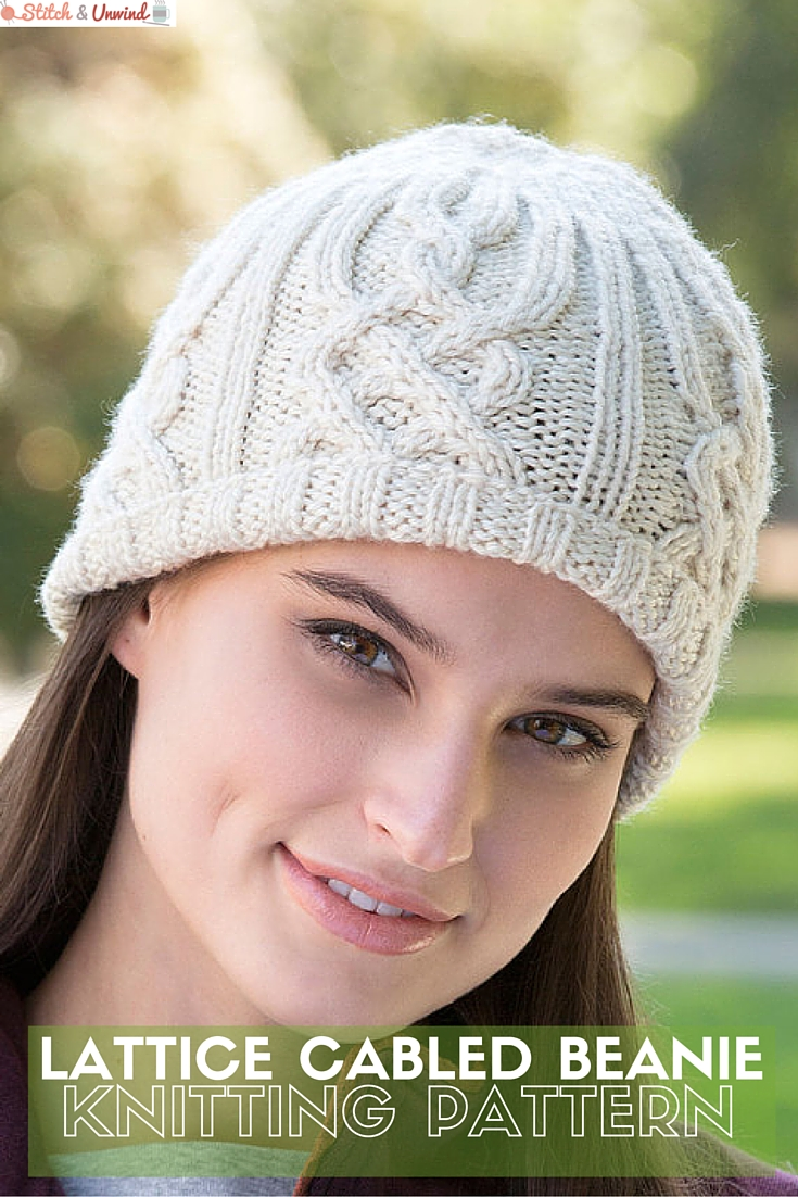 101bc708f Free Pattern  Knit Beanie Pattern from Red Heart - Stitch and Unwind