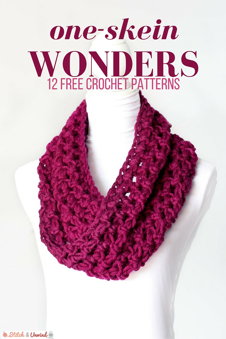 one skein free crochet patterns