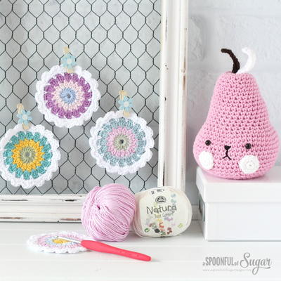 Spring Flower Coasters