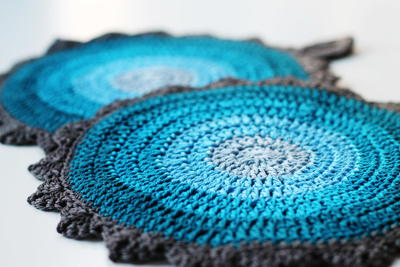 Dutch Skies Crochet Potholders