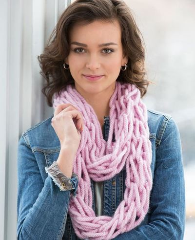 Arm Knit Scarf Pattern