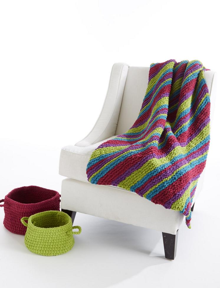 knit afghan pattern