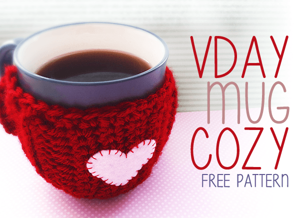 Easy Crochet Valentines Day Mug Cozy Stitch And Unwind