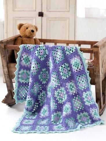 Rockabye Baby Pastel Blanket