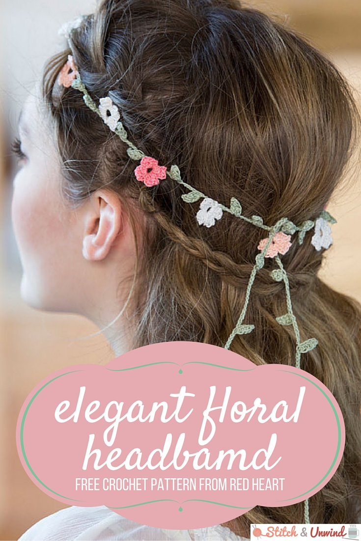 Elegant Floral Headband