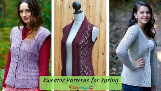 Spring Sweater Patterns