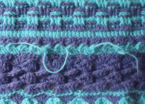 How To Weave in Yarn Tails in Crochet Tutorial by Underground Crafter for Stitch and Unwind