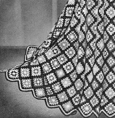 Vintage Scalloped Blanket