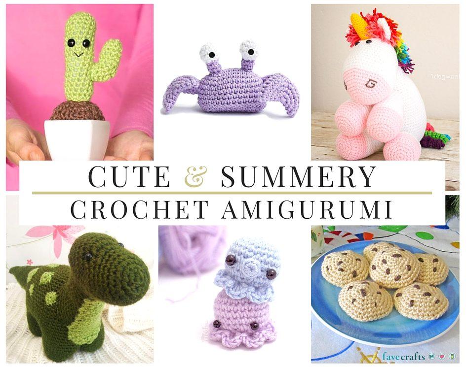 32 Cute & Summery Crochet Amigurumi