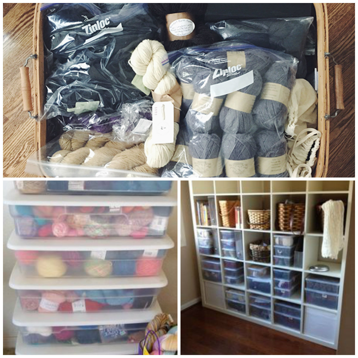 My yarn is contained safe and secure. I highly recommend getting one to keep your knitting easy. yarn storage. Storage Containers & Essential Tools for Knitting: 6 Tools to Make Knitting Easier