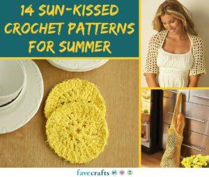 14 Sun-Kissed Crochet Patterns for Summer