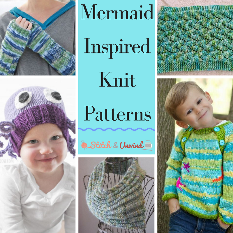 14 Mermaid-Inspired Knit Patterns