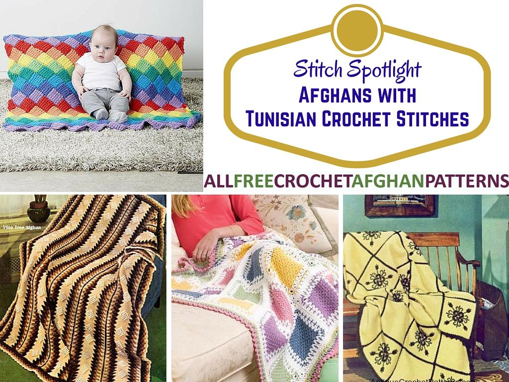 Stitch Spotlight 15 Afghans With Tunisian Crochet Stitches Stitch