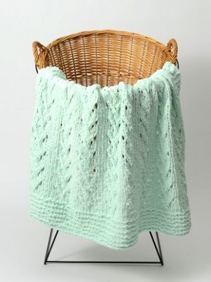 26 Simple Knit Baby Blankets - Stitch and Unwind