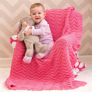 Simple Knit Baby Blankets