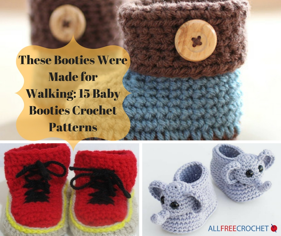 These Booties Were Made For Walking 15 Baby Booties Crochet