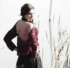 Autumn Goddess Camino Pullover