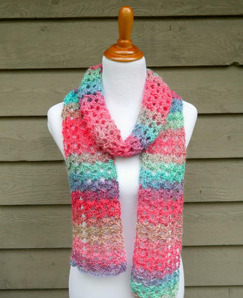 20 New And Favorite Easy Crochet Scarf Patterns Stitch And Unwind