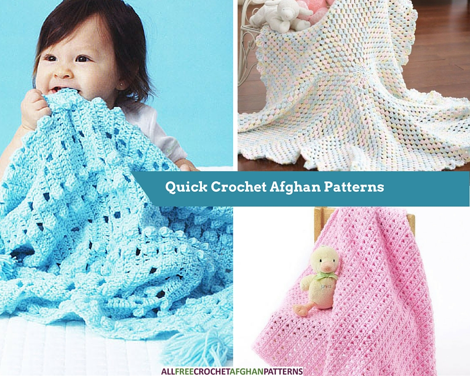 Two Skeins or Less: 12 Quickie Crochet Afghan Patterns