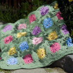 Flower Field Throw