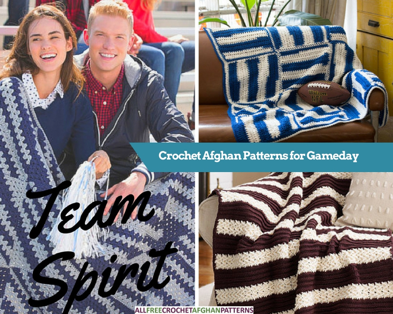 8 Crochet Afghan Patterns For Gameday Stitch And Unwind