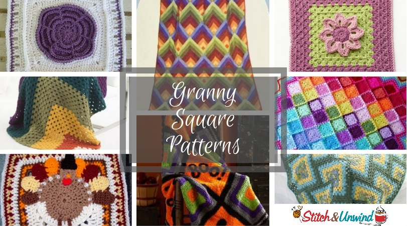 20 Favorite Granny Square Patterns Stitch And Unwind