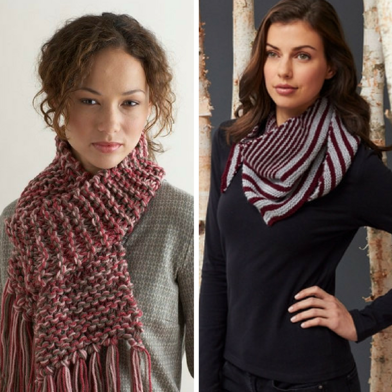 Learn Garter Stitch With 13 Easy Scarf Knitting Patterns Stitch