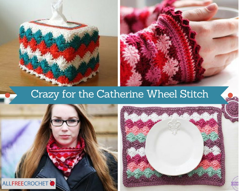 Crazy for the Catherine Wheel Stitch Small