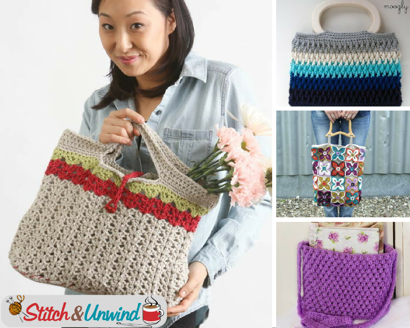 Our Favorite Crochet Bag Patterns Stitch And Unwind