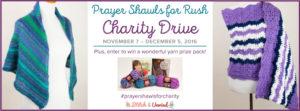Prayer Shawls for Rush Charity Drive