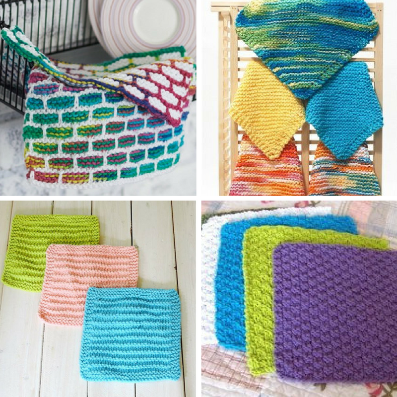 11 Dishcloth Patterns to Try New Stitches - Stitch and Unwind