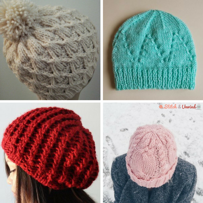 24 Knit Hat Patterns For The Whole Family Stitch And Unwind