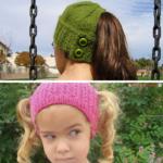 Accidental Genius + 9 Ponytail Free Knit Hat Patterns