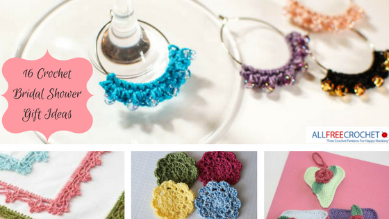 16 Crochet Bridal Shower Gift Ideas Stitch And Unwind