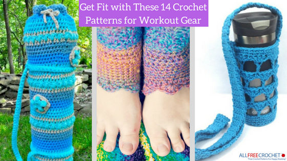 Get Fit with These 14 Crochet Patterns for Workout Gear