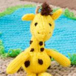 Cuddly Amigurumi Giraffe