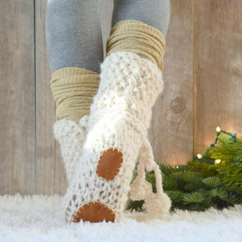14 Sensational Knit Slipper Patterns - Stitch and Unwind