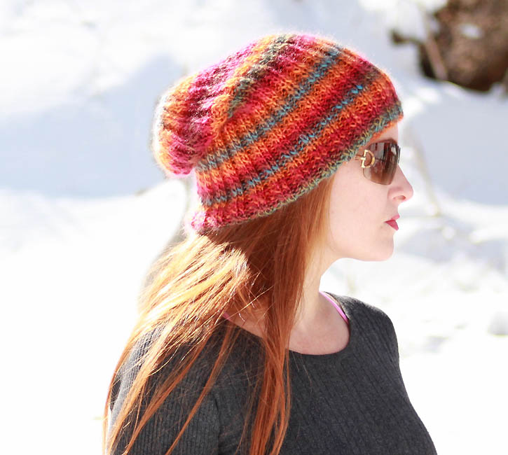 Fruit Salad Slouch Hat