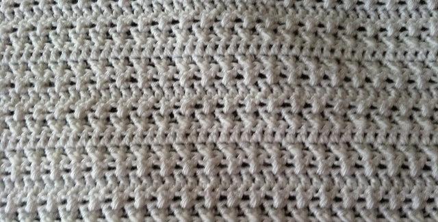 Criss-Cross Crochet Baby Blanket