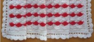 Cherry Sparkle Baby Blanket