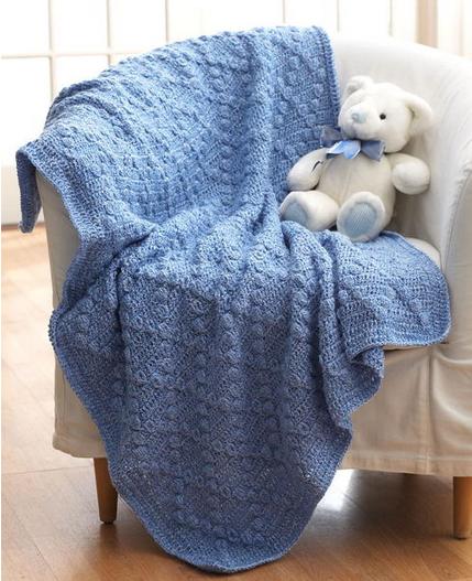 Bumpy Baby Blanket