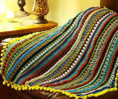 Medley of Stitches Blanket