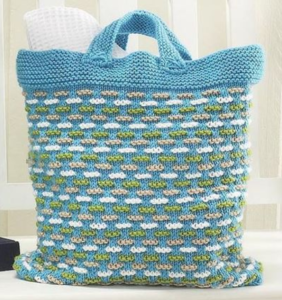 Summer Escape Knit Bag