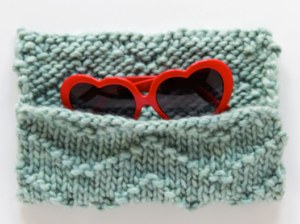 Chevron DIY Sunglasses Case