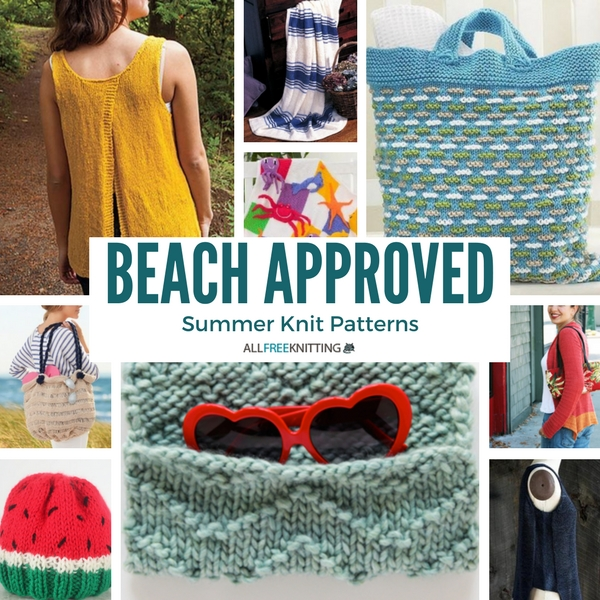 Beach Approved Summer Knit Patterns