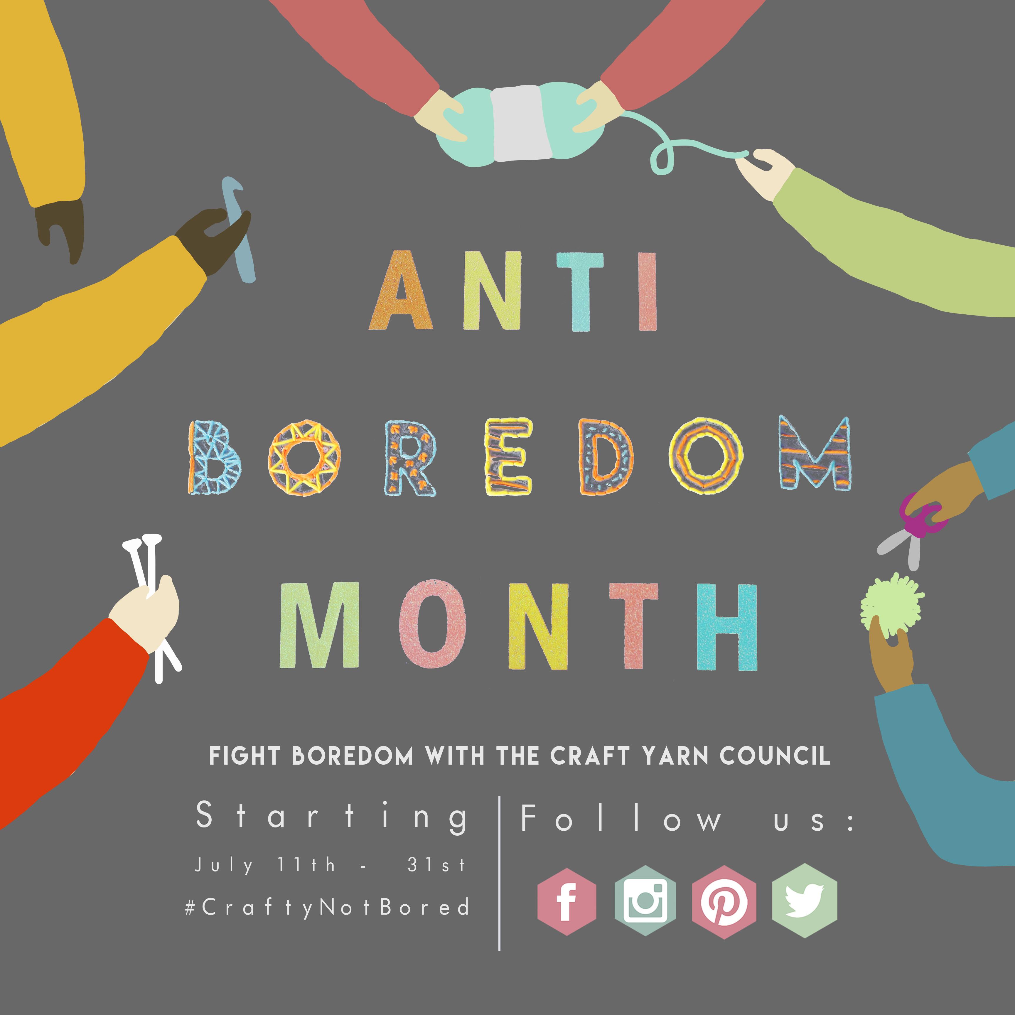 Anti-Boredom Month