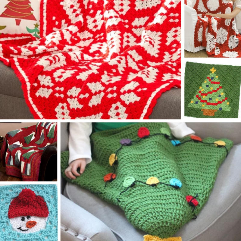 Crochet Christmas In July 46 Crochet Afghan Patterns Stitch And