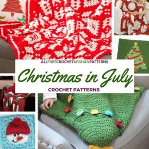 Crochet Christmas in July: Crochet Afghan Patterns