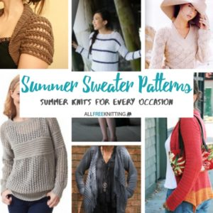 Summer Sweater Patterns
