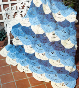 Lacy Shell Afghan